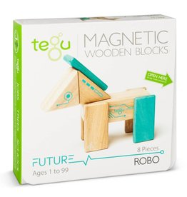 Tegu Tegu Magnetic Blocks Robo Future