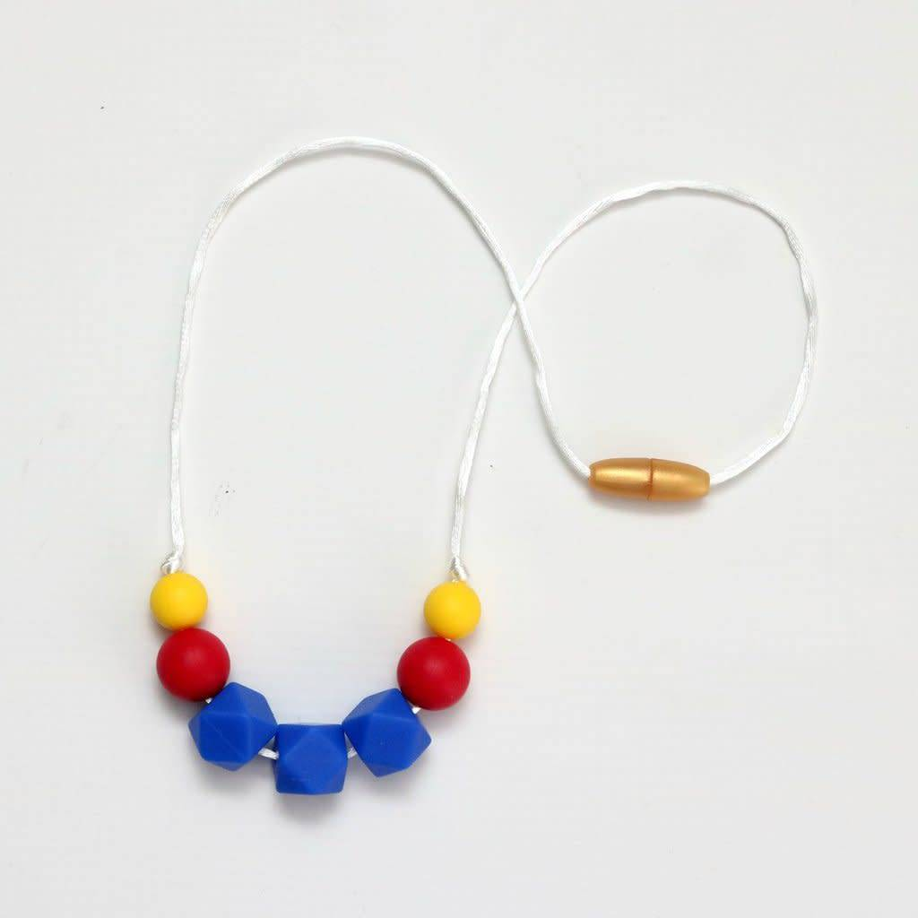 Getting Sew Crafty Child Size Silicone Necklace - #Royal Blue