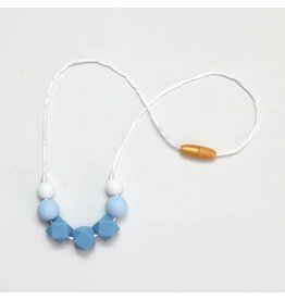 Getting Sew Crafty Child Size Silicone Necklace - #Light Blue