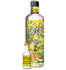 99 PINEAPPLE SCHNAPPS .050L