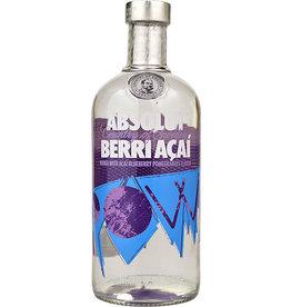 ABSOLUT BERRY ACAI VODKA .750L