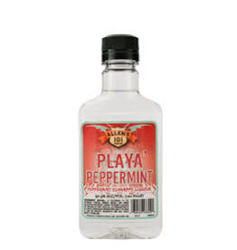ALLENS PLAYA PEPPERMINT SCHNAPPS .100L