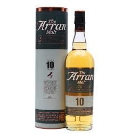 ARRAN 10 YEAR SCOTCH .750L