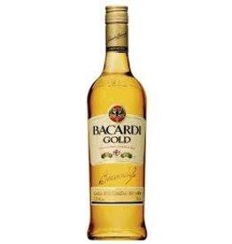 BACARDI GOLD RUM .375L