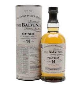 BALVENIE CARIBBEAN 14 YEAR SCOTCH .750L