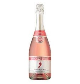 BAREFOOT BUBBLY PINK MOSCATO .750L