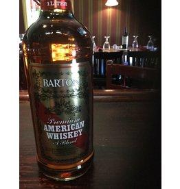 BARTON AMERICAN WHISKEY 1.75L