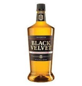 BLACK VELVET WHISKEY .375L