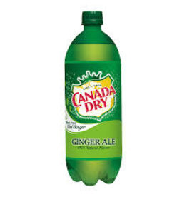 CANADA DRY GINGER ALE 1.0L