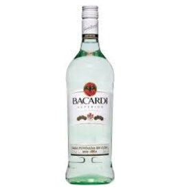 BACARDI SILVER RUM GLASS .750L