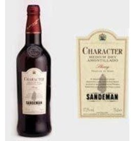 SANDEMAN CHARACTER MED DRY SHERRY .750L