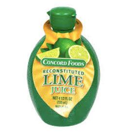 CONCORD LIME JUICE 4.5 OZ