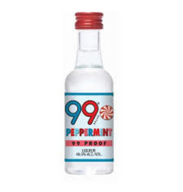 99 PEPPERMINT SCHNAAPS .050L