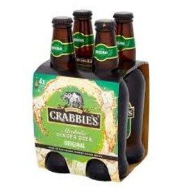 CRABBIE'S GINGER BEER 4PK