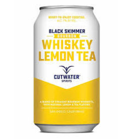 CUTWATER WHISKEY LEMON TEA 12 OZ CAN 4-PACK