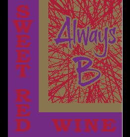 ALWAYS B SWEET RED WINE .750L