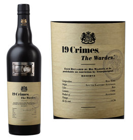 19 CRIMES THE WARDEN RED BLEND .750L