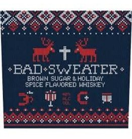 BAD SWEATER BROWN SUGAR & HOLIDAY SPICE WHISKEY .750L