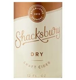 SHACKSBURY DRY CIDER 6-PACK CANS