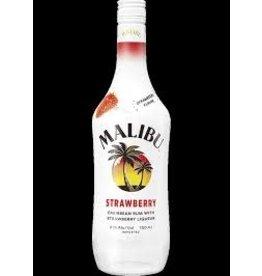 MALIBU STRAWBERRY RUM .750L
