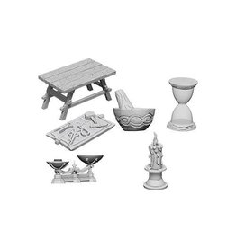 WIZKIDS DEEP CUTS UNPAINTED MINIS WORKBENCH & TOOLS