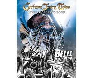 ZENESCOPE ENTERTAINMENT INC GRIMM FAIRY TALES ADULT COLORING BOOK BELLE
