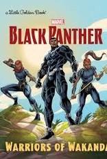 GOLDEN BOOKS BLACK PANTHER WARRIORS OF WAKANDA LITTLE GOLDEN BOOK