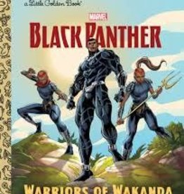 GOLDEN BOOKS BLACK PANTHER WARRIORS OF WAKANDA LITTLE GOLDEN BOOK