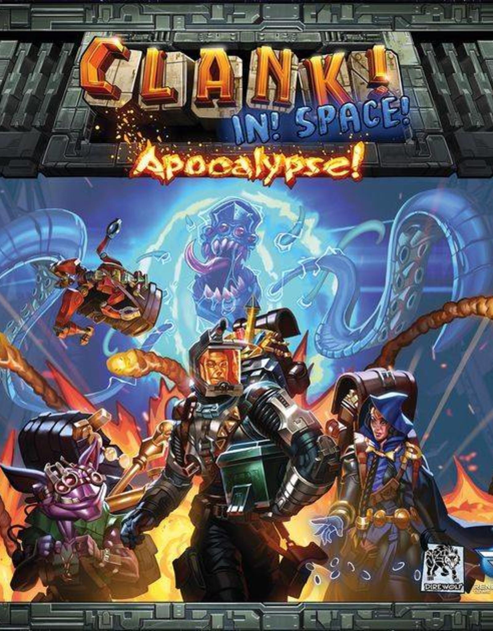 RENEGADE GAME STUDIOS CLANK! IN SPACE APOCALYPSE!