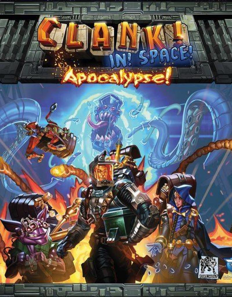 RENEGADE GAME STUDIOS CLANK! IN SPACE APOCALYPSE!
