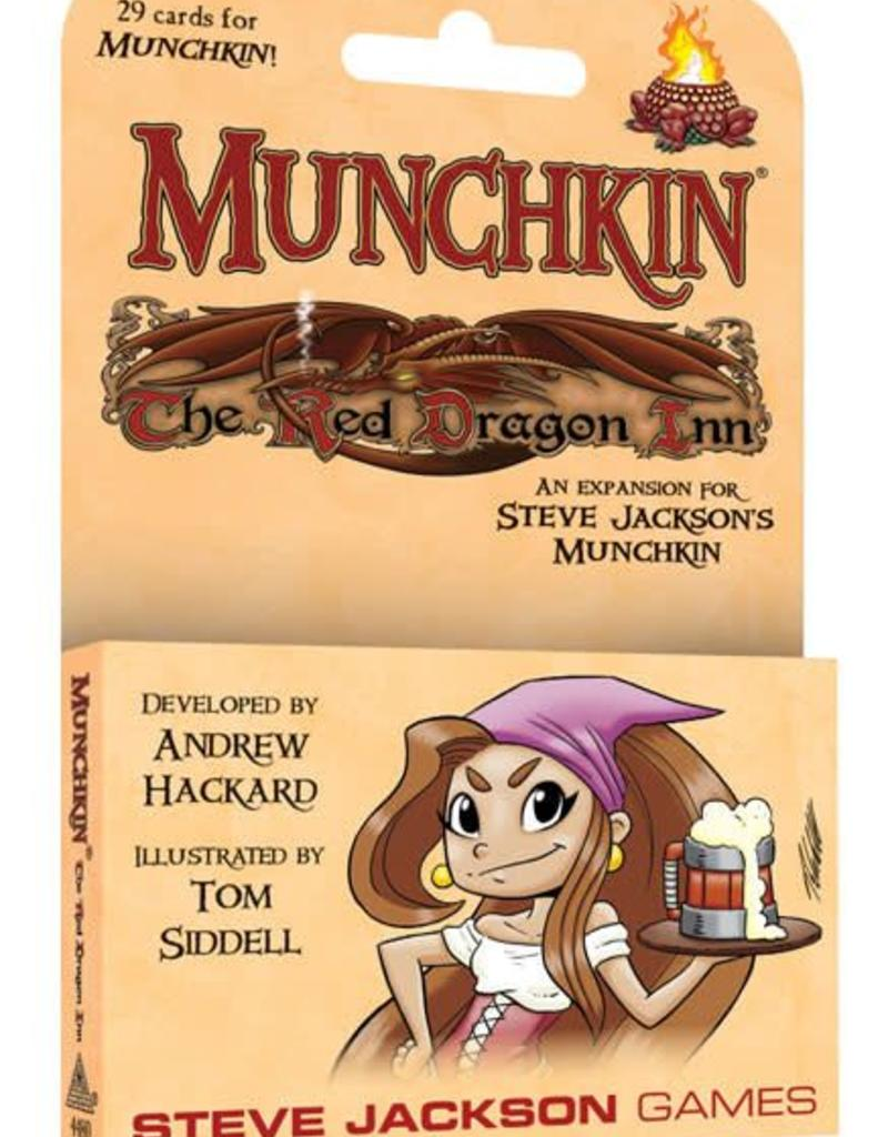 STEVE JACKSON GAMES MUNCHKIN THE RED DRAGON INN EXPANSION