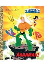 GOLDEN BOOKS DC SUPER FRIENDS AQUAMAN LITTLE GOLDEN BOOK HC