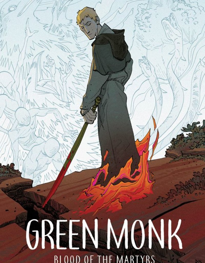 IMAGE COMICS GREEN MONK BLOOD OF MARTYRS TP