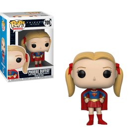 FUNKO POP FRIENDS PHOEBE 80'S SUPER GIRL VINYL FIG
