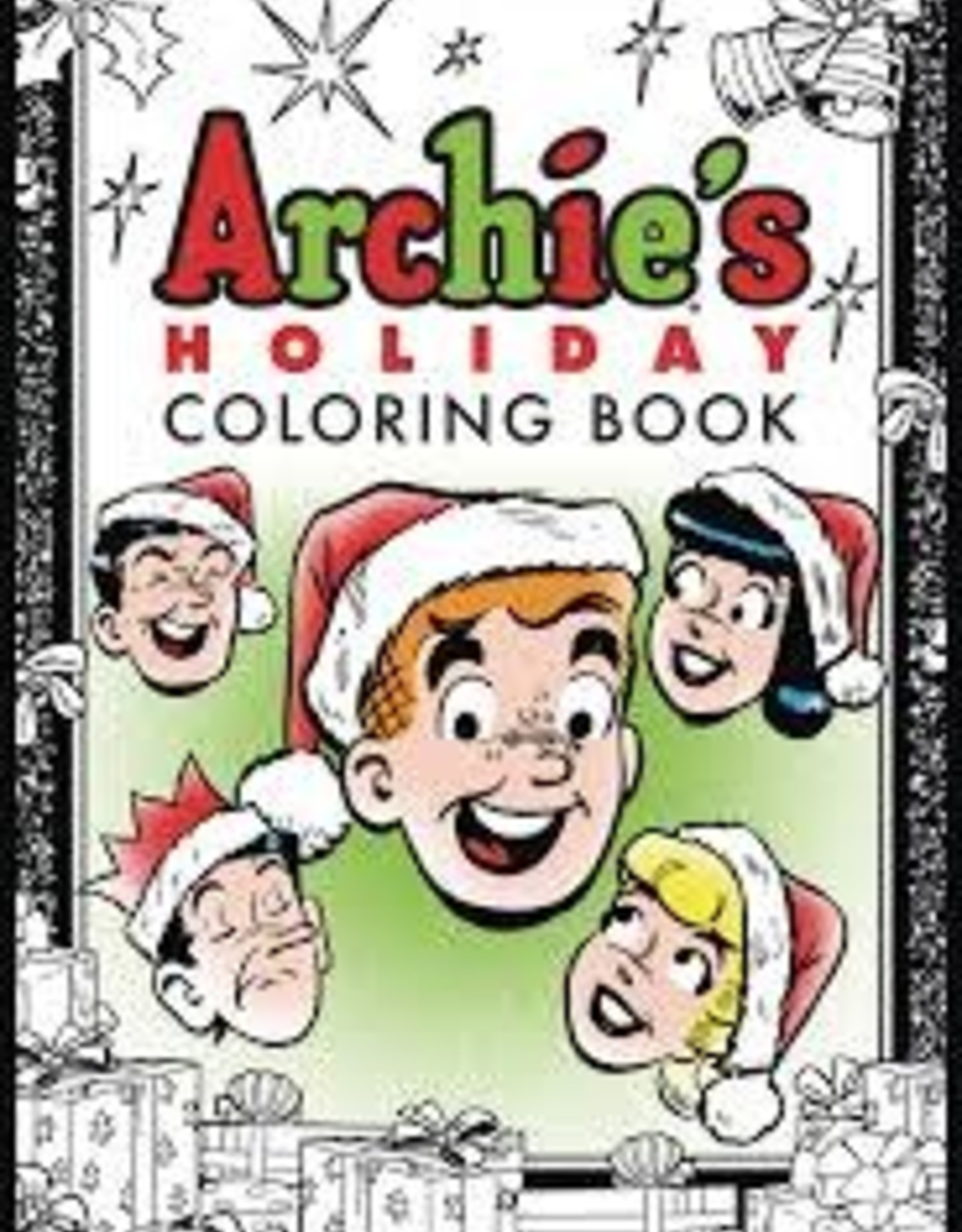 ARCHIE COMIC PUBLICATIONS ARCHIES HOLIDAY COLORING BOOK