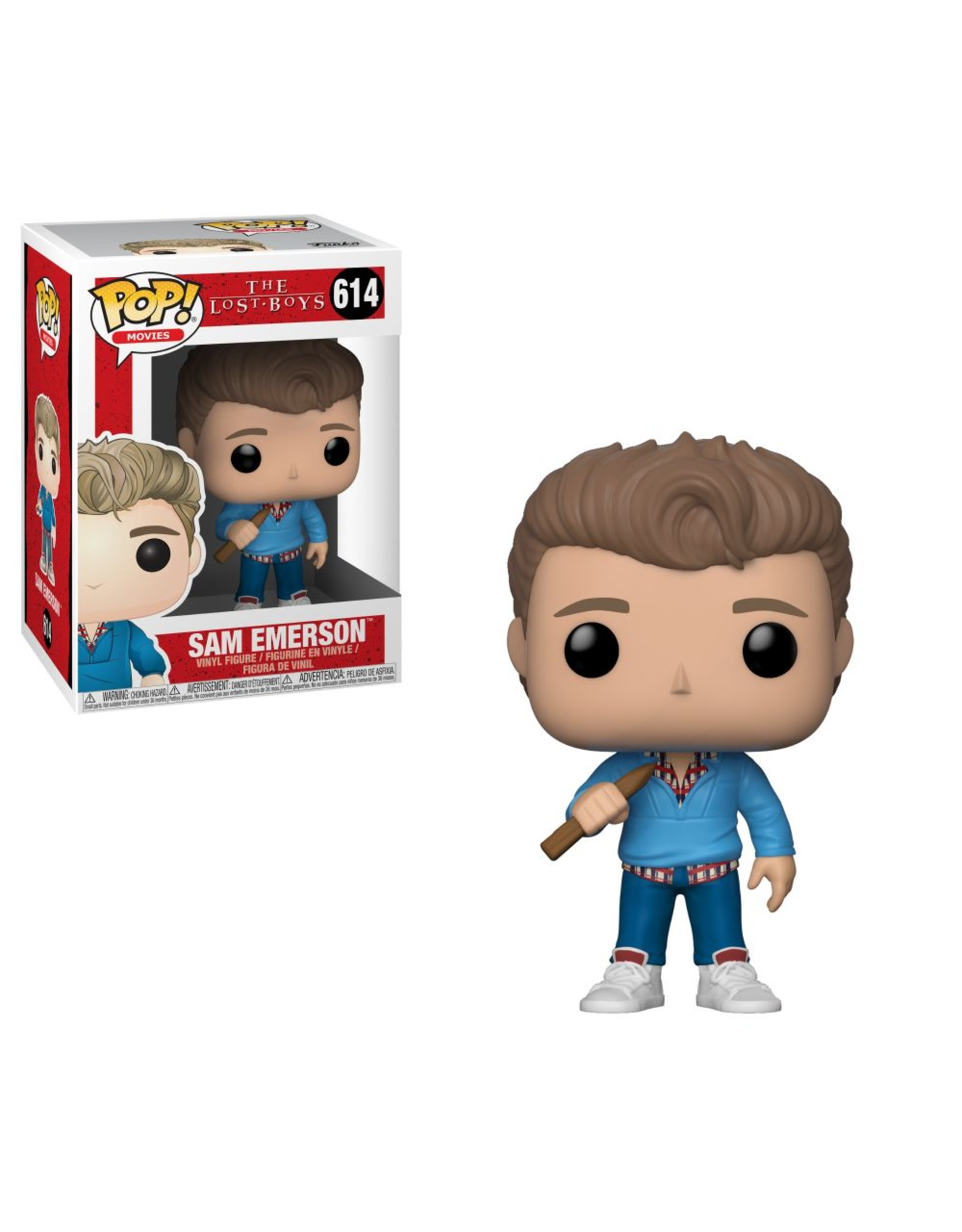 FUNKO POP LOST BOYS SAM EMERSON VINYL FIG