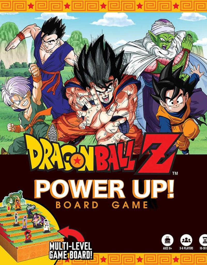 USAOPOLY DRAGON BALL Z POWER UP! BOARD GAME