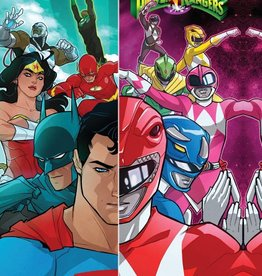 DC COMICS JUSTICE LEAGUE POWER RANGERS TP