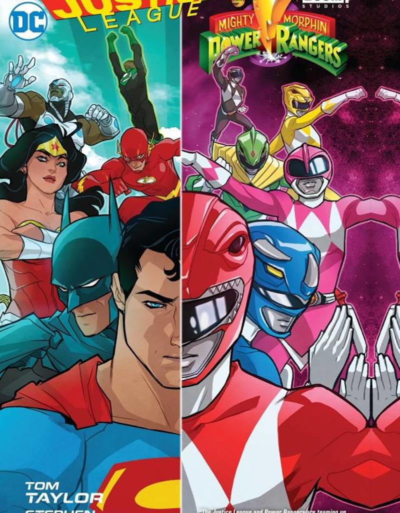 DC COMICS JUSTICE LEAGUE POWER RANGERS TP