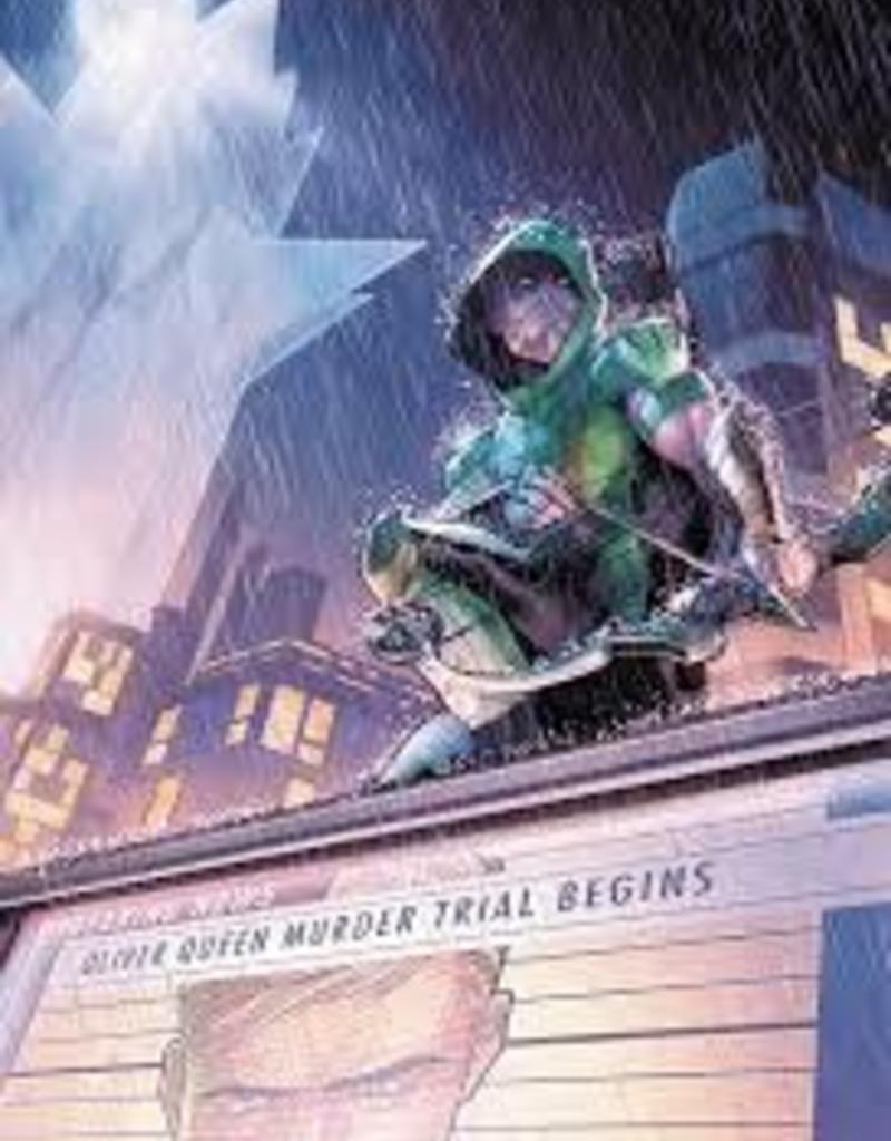 DC COMICS GREEN ARROW TP VOL 06 TRIAL OF TWO CITIES REBIRTH