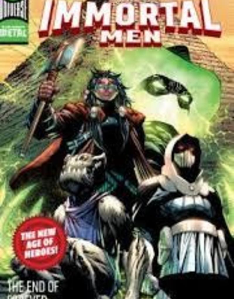 DC COMICS IMMORTAL MEN TP THE END OF FOREVER