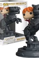 FUNKO POP MOVIE MOMENTS HARRY POTTER RON WEASLEY RIDING CHESS PIECE