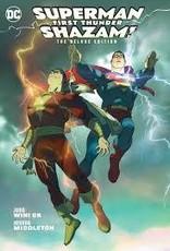 DC COMICS SUPERMAN SHAZAM FIRST THUNDER DLX ED HC