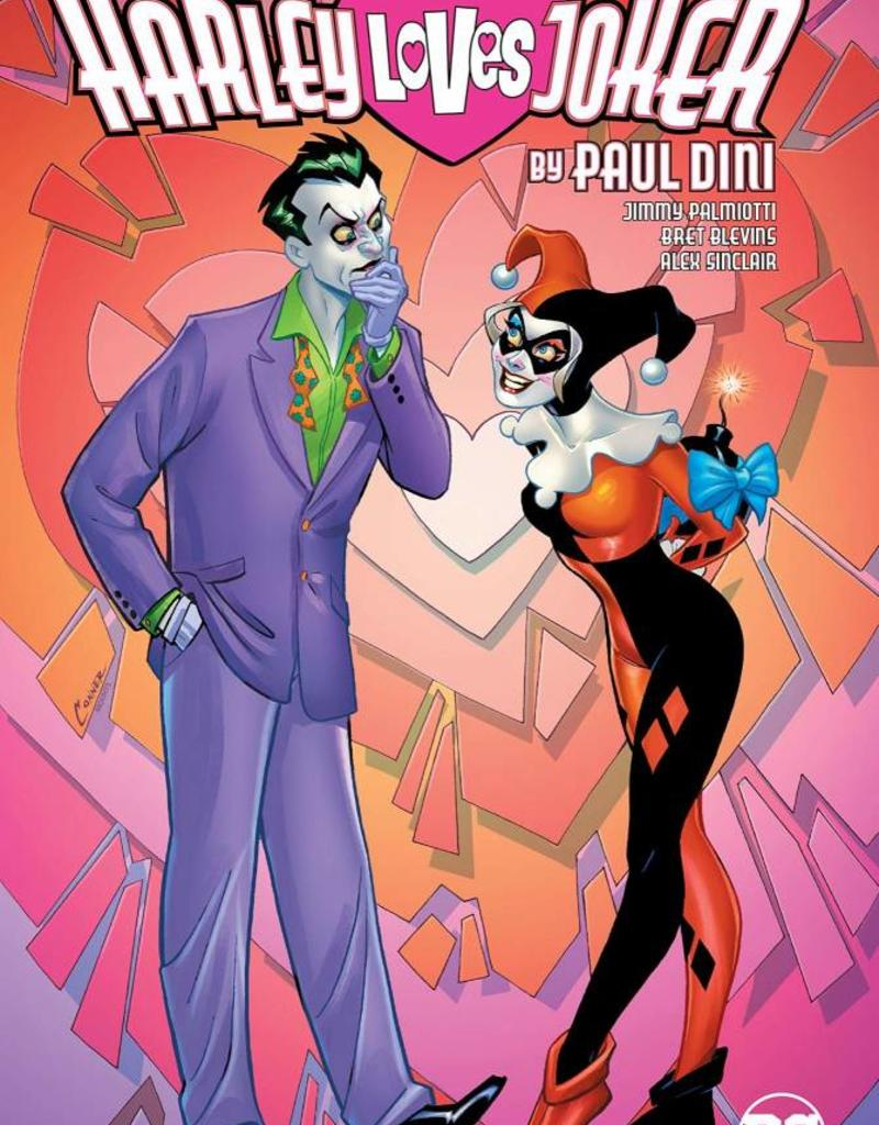 DC COMICS HARLEY LOVES JOKER BY PAUL DINI HC
