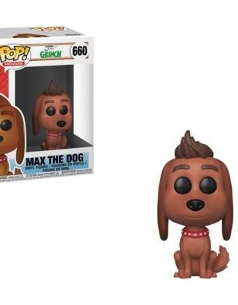 FUNKO POP THE GRINCH MOVIE MAX THE DOG VINYL FIG
