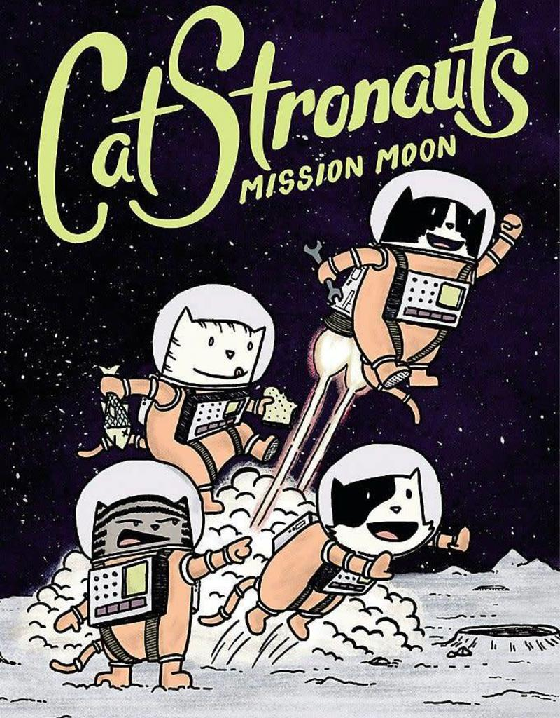 LITTLE BROWN BOOK FOR YOUNG RE CATSTRONAUTS YR GN VOL 01 MISSION MOON