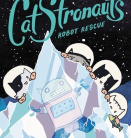 LITTLE BROWN BOOK FOR YOUNG RE CATSTRONAUTS YR GN VOL 04 ROBOT RESCUE