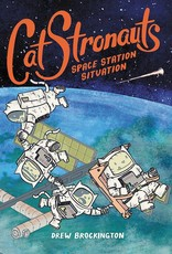 LITTLE BROWN BOOK FOR YOUNG RE CATSTRONAUTS YR GN VOL 03 SPACE STATION SITUATION