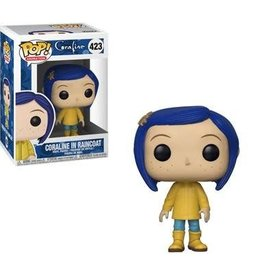 FUNKO POP MOVIES CORALINE IN RAINCOAT VINYL FIG