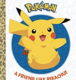 GOLDEN BOOKS A FRIEND LIKE PIKACHU POKEMON LITTLE GOLDEN BOOK